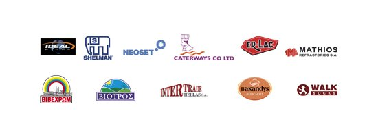 Customers' logos